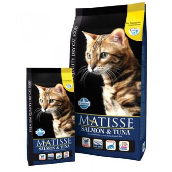 Matisse Salmon & Tuna схой корм д/кошек с лососем и тунцом 1,5 кг