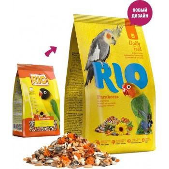 Rio Parakeets, для средних попугаев, 500 г
