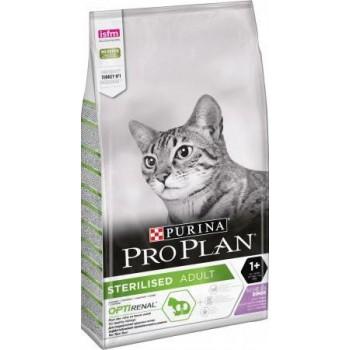 Pro Plan Sterilised, для стерилизованных кошек, индейка, 3 кг