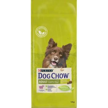 АКЦИЯ: (Скидка 0-15-30%) Dog Chow Adult, для взрослых собак, ягнёнок, 14 кг