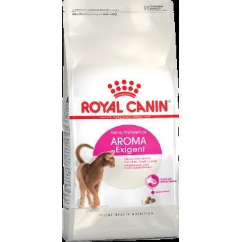 АКЦИЯ! (Скидка 0-20%) Royal Сanin Aroma Exigent, для кошек, привередливых к аромату продукта, 400 г