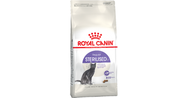 Корм royal canin sterilised 37 400 гр