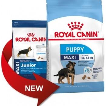 АКЦИЯ! (Скидка 0-15%) Royal Canin Maxi Junior, для щенков крупных размеров, 4,0 кг