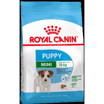 АКЦИЯ! (Скидка 15%) Royal Canin Mini Puppy, для щенков мелких пород 2-10 мес, 800 г