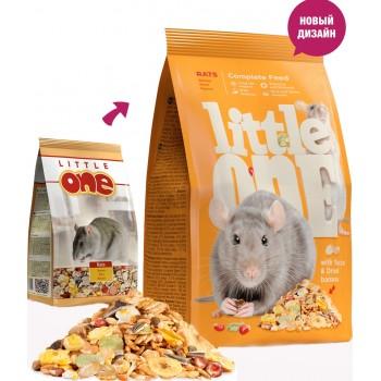 Littlе One Rats, для крыс, 400 г