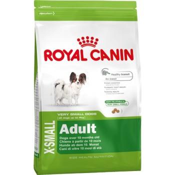 АКЦИЯ! (Скидка 15%) Royal Canin X-Small Adult, для собак миниатюрных размеров, 500 г